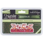 Crafter's Companion Die'sire Edge'ables Cutting & Embossing Die Reindeer Dance