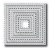 Tutti Designs Stitched Nesting Squares Cutting Die TUTT218