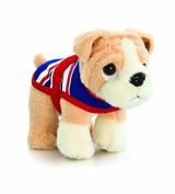 17cm Bulldog In Coat Soft Toy Dog by Keel Toys