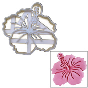 Hibiscus Flower cookie cutter, 1 pc, Ideal gift for floral theme wedding party or garden picnic