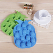 Lovely Mini Kitchen Mould Ice Tools Mould Silicone Pineapple Chocolate Ice Mould Colour Random Diy Freeze Bar