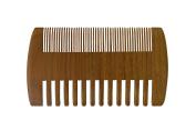 Mr Beard Comb   Pure 2 in 1 Sandalwood Pocket Comb   Cool Skin Beard Hair Follicles Treatment   Wide Fine Teeth   1112