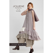 "TINA GIVENS ""JOLIENE RAW MAGIC DRESS"" Sewing Pattern"
