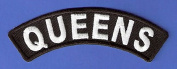 BRAND NEW QUEENS NEW YORK CITY ROCKER BIKER IRON ON PATCH supplier_midyatjewelry