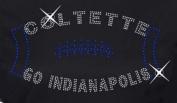 Indianapolis Football Rhinestone Iron on Transfer