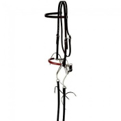 Tough 1 King Series Browband Bridle with Hackamore