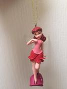 Disney Fairies Rosetta 10cm PVC Figure Holiday Christmas Tree Ornament Figurine Doll Toy