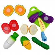 7pcs Fruit Shop toy, Misaky Playhouse Small Simulation Utensils Kids Toy