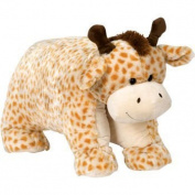 Giant Pillow Chums Giraffe 90cm x 48cm Orange Cream by KellyToy