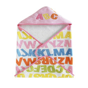 Kassatex Bambini Hooded Kids Towels, ABC