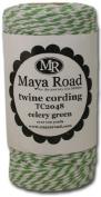 Maya Road Baker's Twine Cording, Celery Green