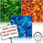 Hydrographic Film - Water Transfer Printing - Hydro Dipping -Extreme Flames Hydro 3 pack