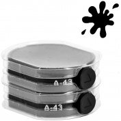 ExcelMark A43 Self Inking Replacement Ink Pads - Black