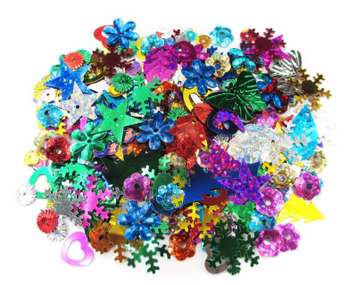 ALL in ONE Spangle Mix: Assorted Colour and Shape 10gram
