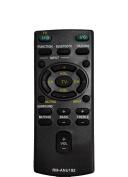 econtrolly New Replaced RM-ANU192 Sub RM-ANU191 Remote Fit for Sony Soundbar Sound Bar HT-CT60BT HTCT60BT SS-WCT60 SSWCT60 SA-CT60 SACT60 SA-CT60BT SACT60BT HT-CT60 HTCT60