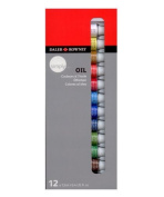 Daler-Rowney simply oil painting 12 colours set by Daler Rowney