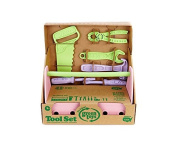 Green Toys TLSP-1011 Tool Set (Pink) by Green Toys