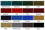 Euro Blue Mali 865 Bumper Pool Table Cloth Felt, Model