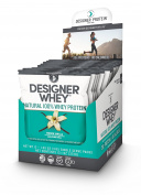 Designer Protein Whey Single Serve Pack Powder, French Vanilla, 12 Count