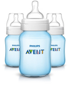 Philips Avent Anti-colic Baby Bottles Blue, 270ml, 3 Piece