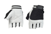 WEIGHT LIFTING PADDED LEATHER GLOVES FITNESS TRAINING BODY BUILDING GYM SPORTS WHEELCHAIR GLOVES W-1002
