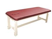 Stationary Adjustable Height Spa Massage Table Face Hole Cushion