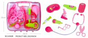 Lumiparty Play Doctor Kit Medical Toys Pretend Doctor Kit Prentend Play Toys for Kids Pink
