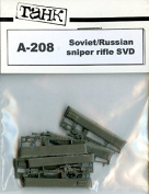 TAHK Tank 1:35 Soviet Russian Sniper Rifle SVD Weapons Resin Detail #A-208