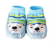 Baby Socks with Non-Slip Sole Slippers 6 to 24 Months