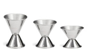 Chefs 1st Choice Double Cocktail Jigger, Set of 3