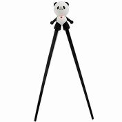 Rely2016 Kid Baby Cute Panda Plastic Detachable Learning Training Chopsticks with Silicone Guide/Training Connector