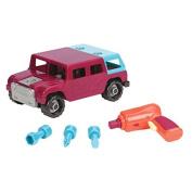 Battat Take-A-Part Toy Vehicles 4x4, Maroon by Battat