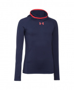 Under Armour Boys' UA ColdGear Armour Printed Fitted Ninja Hoodie