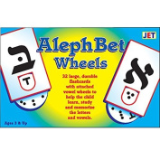 Aleph Bet Wheels Flashcards by Jewish Educational Toys