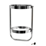 Helm Products FH105ELX 27cm Stainless Steel Single Boat Fender Holder