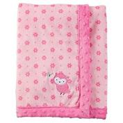 Child of Mine Newborn Plush Baby Blanket, Owl