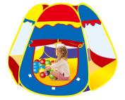 Funny Tent Pop-Up Playhouse Indoor/Outdoor Rainbow Playpen for Kids