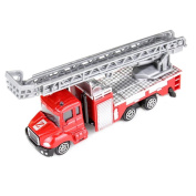 Leegor 1:64 Alloy Simulation Engineering Vehicles Toy Fire Rescue Car Truck Boy Birthday Present Educational Toy Christmas Gift