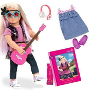 Our Generation 46cm Layla Doll with Book by Battat