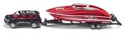 Siku - Car with Motorboat Super Series by Siku
