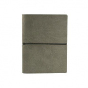 Ciak Lined Notebook: Grey