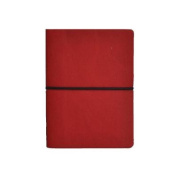 Ciak Lined Notebook: Red