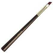 da Vinci Cosmetics Series 43541 Gold Eyelash/Eyebrow Brush, Angled Synthetic with Long Handle, Size 8, 40ml