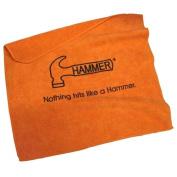 Hammer Bowling Microfiber Towel- Orange