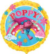 Children's Birthday Party Decoration Trolls Poppy 46cm Foil Balloon
