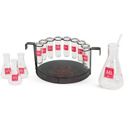 Bar Drinkware Chemistry Set - 15 Pieces