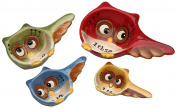 Cosmos Gifts 10910 Owl Design 4-Piece Measuring Spoon, 8.3cm