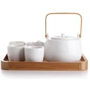 casaWare Serenity 7-Piece Tea Pot Set