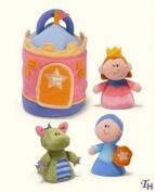 Bright Beginnings Princess Castle Playset by Baby Gift Idea