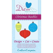 Crafters Companion Die'sire Dies - Christmas Baubles by Crafters Companion